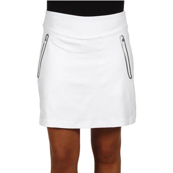 Nike Dresses & Skirts - Nike Golf White Compression Skort Skirt No Sew
